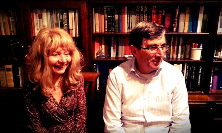 Françoise et Alain anime la soirée littéraire du 16 novembre